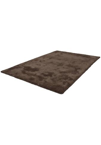 LALEE Hochflor-Teppich »Velvet«, rechteckig, 25 mm Höhe, Besonders weich durch... kaufen