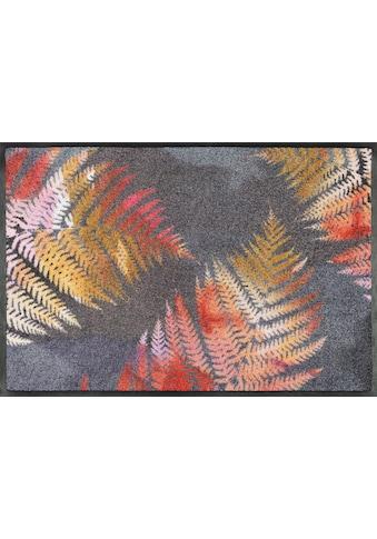 wash+dry by Kleen-Tex Fussmatte »Erbario«, rechteckig, 7 mm Höhe, Schmutzfangmatte,... kaufen