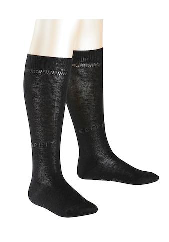 Esprit Kniestrümpfe Foot Logo 2 - Pack (2 Paar) kaufen