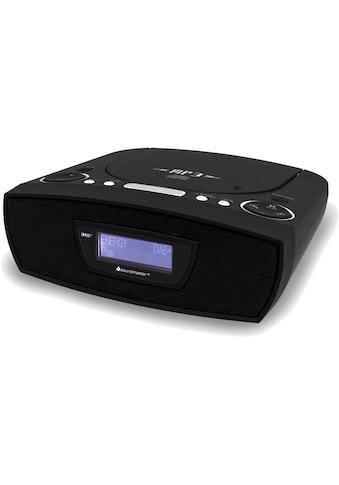 Soundmaster Digitalradio (DAB+) »URD480 Schwarz«, (CD Digitalradio (DAB+)-FM-Tuner ) kaufen