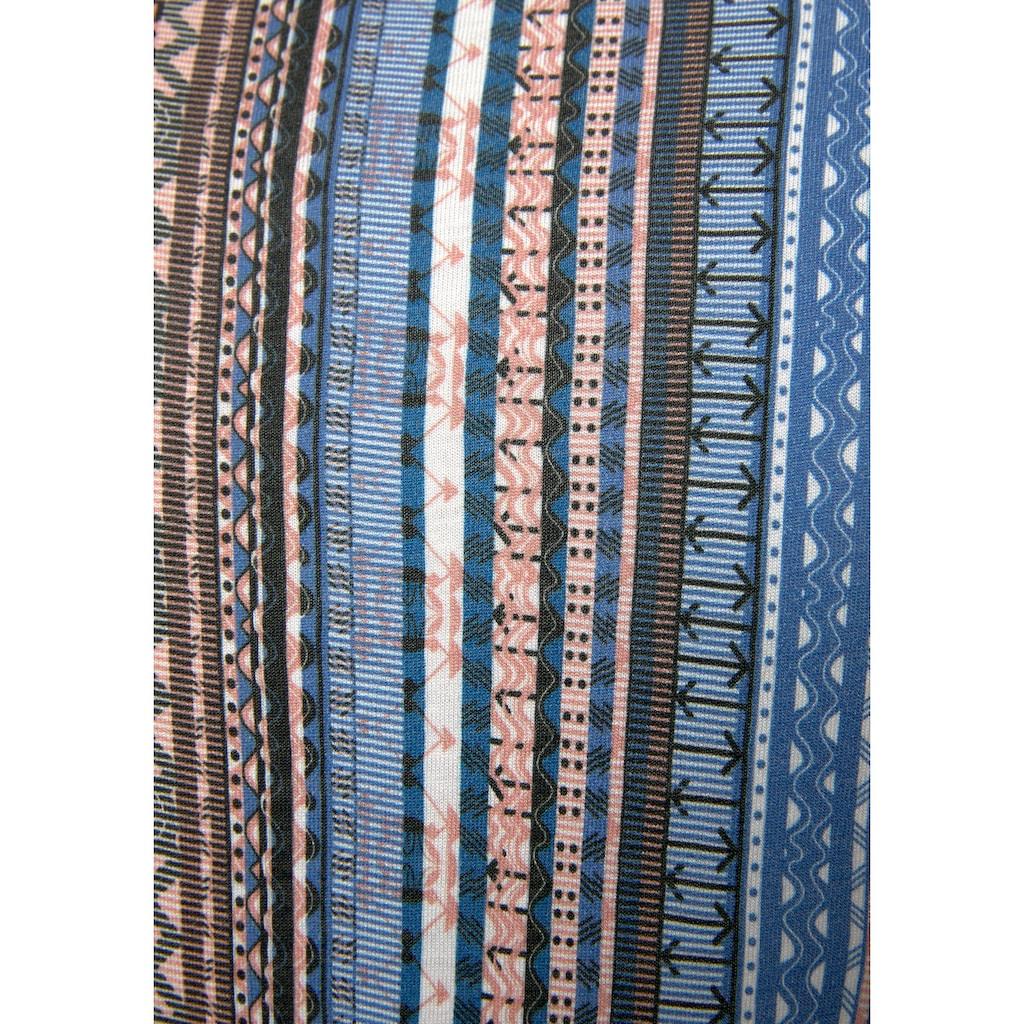 LASCANA Sommerkleid, mit grafischem Print