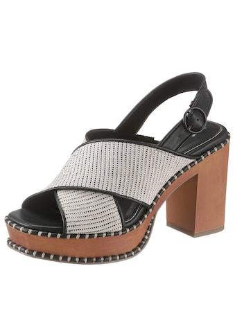 Tamaris High-Heel-Sandalette »Claudie«, im modischen Retro-Look kaufen