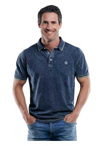 Engbers Sportives Poloshirt mit Neon - Details kaufen