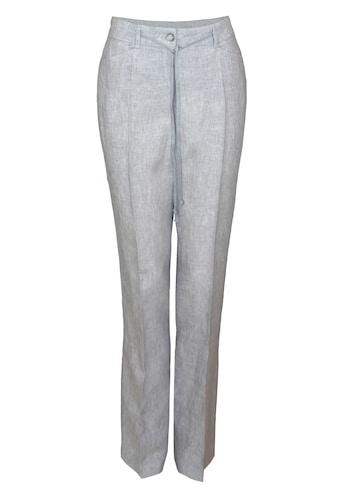 bianca Leinenhose »PARIGI«, in angesagter Mélange-Optik aus 100% Leinen kaufen