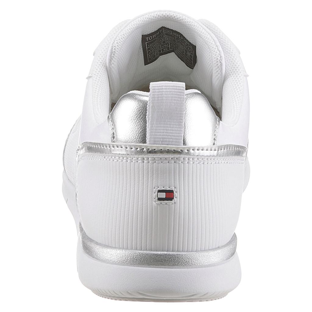 TOMMY HILFIGER Sneaker »METALLIC LIGHTWEIGHT SNEAKER«, mit Ortholite Hybrid Dämpfung