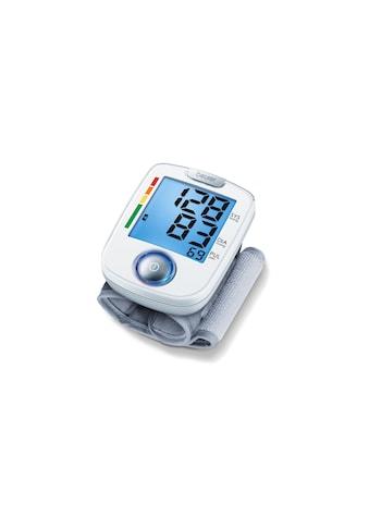 BEURER Handgelenk-Blutdruckmessgerät »BC 44«, Abschaltautomatik, Arrhythmie-Erkennung,... kaufen