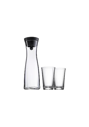 WMF Karaffe »WMF Wasserkaraffen-Set 1 l 2 Gläser« kaufen