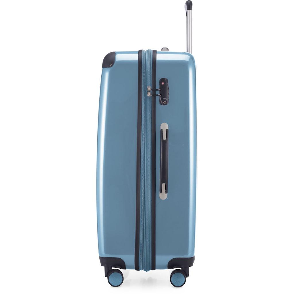 Hauptstadtkoffer Hartschalen-Trolley »Alex, 75 cm, Pool Blue«, 4 Rollen