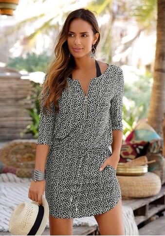 s.Oliver Beachwear Sommerkleid, mit Reissverschluss kaufen