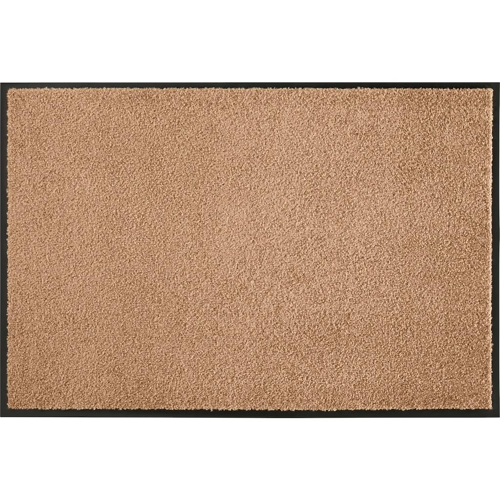 HANSE Home Fussmatte »Wash & Clean«, rechteckig, 7 mm Höhe, Schmutzfangmatte, In- und Outdoor geeignet, waschbar