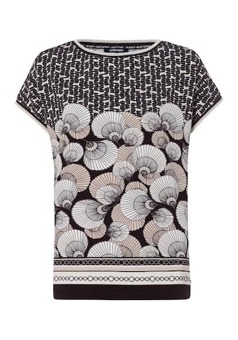 Olsen Print-Shirt, mit überschnittenen Schultern kaufen