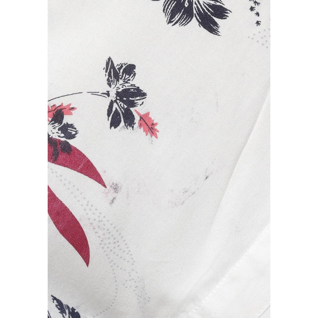 Boysen's Schlupfbluse, mit elastischem Ballonsaum