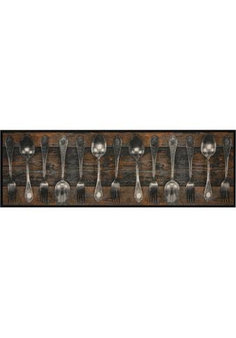 Zala Living Küchenläufer »Fork & Spoon«, rechteckig, 5 mm Höhe, In- und Outdoor... kaufen