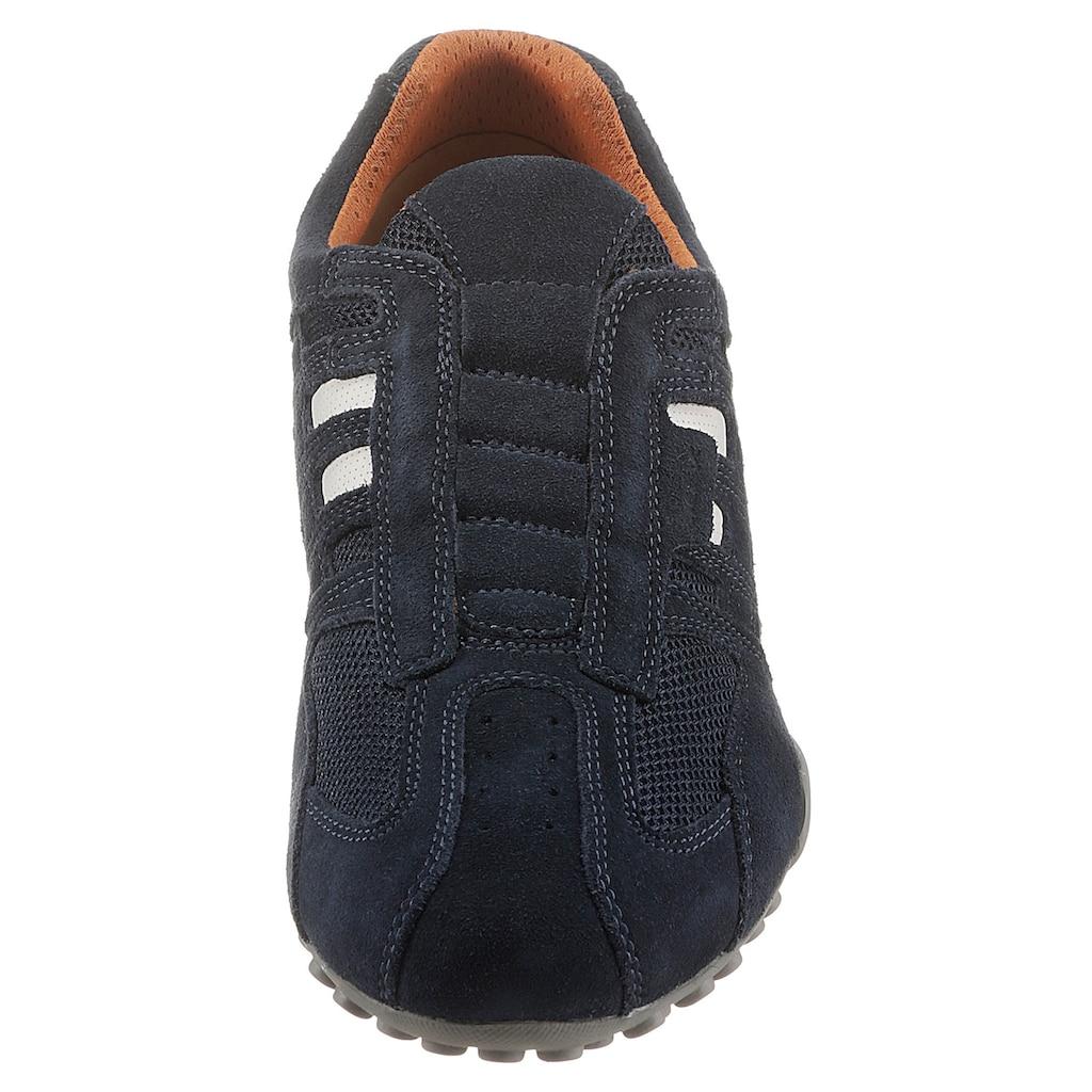 Geox Slip-On Sneaker »Snake«, mit modischen Ziernähten und mit Geox Spezial Membrane