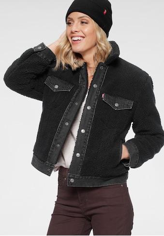 Levi's® Fellimitatjacke »Ex  - Boyfriend Trucker« kaufen