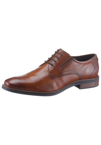 bugatti Schnürschuh »Malco«, mit Stretcheinsätzen kaufen