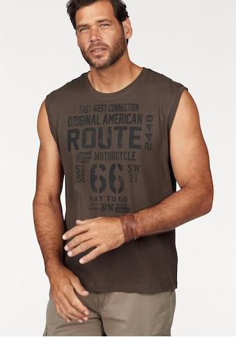 Man's World Muscleshirt, aus reiner Baumwolle kaufen