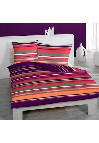 HOME FASHION Bettbezug »Streifen Quer«, (1 St.) kaufen