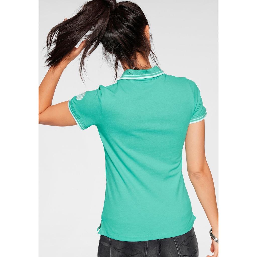 KangaROOS Poloshirt, mit grossem Frontdruck