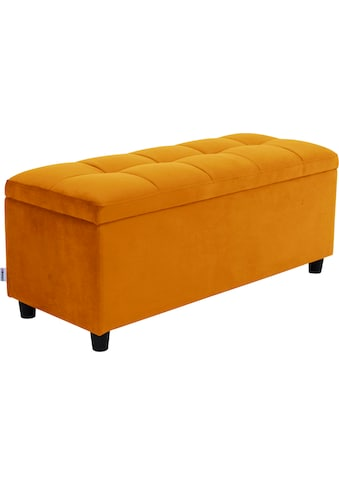 COUCH♥ Bettbank »Abgesteppt«, Mit Stauraum, auch als Garderobenbank geeignet, Polsterbank kaufen