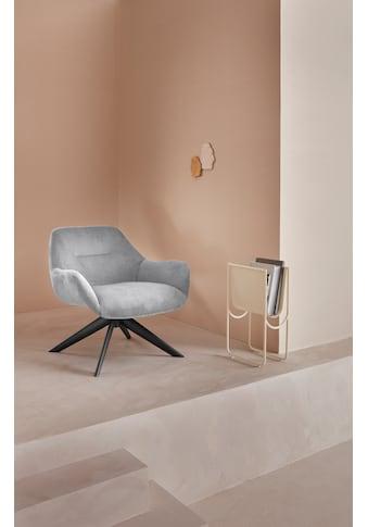 LeGer Home by Lena Gercke Loungesessel »Noemi«, In zwei Bezugsqualitäten, Sitz und Rücken gepolstert kaufen