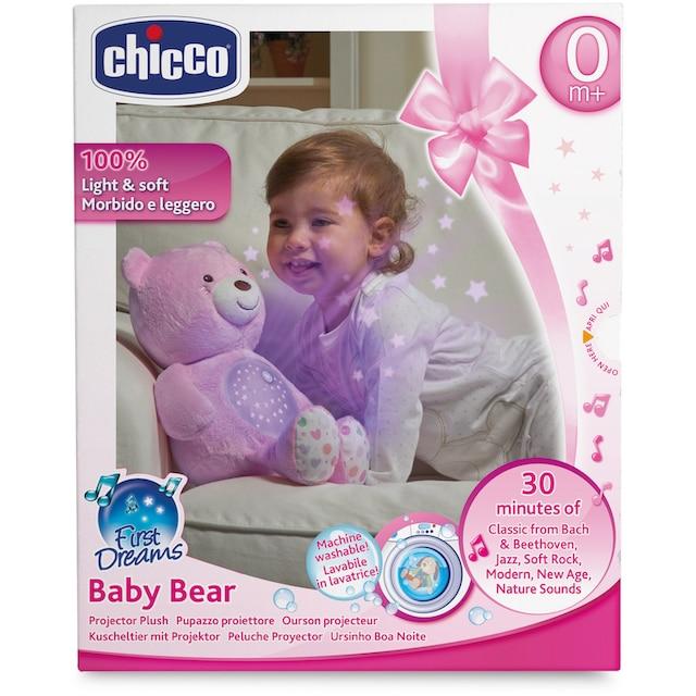 """Chicco Kuscheltier """"First Dreams Baby Bär, Rosa"""""""