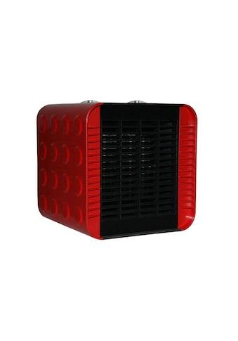 Sonnenkönig Keramikheizlüfter »Cuby Rot« kaufen
