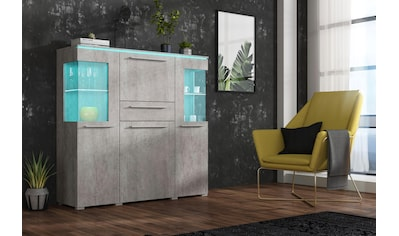 TRENDMANUFAKTUR Highboard »India« kaufen