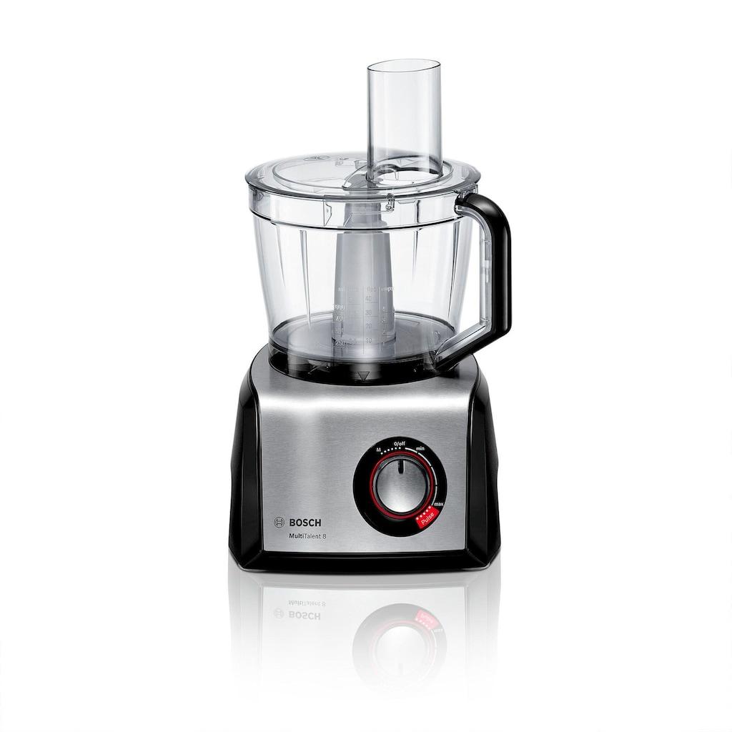 BOSCH Multifunktions-Küchenmaschine »MC812M865 schwarz - edelstahl«