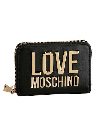 LOVE MOSCHINO Geldbörse, mit modischer Logo Plakette kaufen