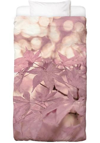 Bettwäsche »Rose Maple Leaves«, Juniqe kaufen