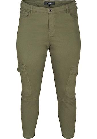 Zizzi Cargohose, mit zwei grossen Taschen auf den Oberschenkeln kaufen
