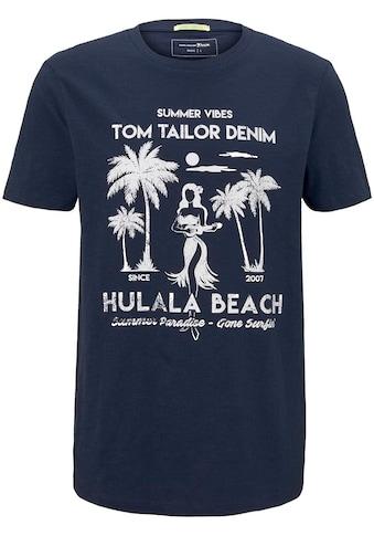 TOM TAILOR Denim Rundhalsshirt kaufen