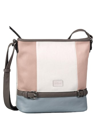 TOM TAILOR Umhängetasche »Juna«, in trendiger Farbkombination kaufen