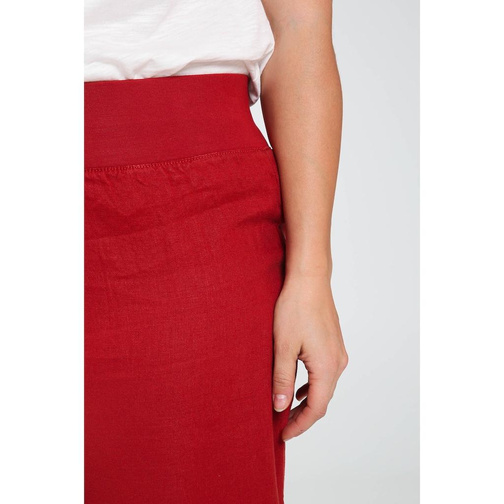 Paprika Caprihose »Uniform Gummizug in der Taille casual«