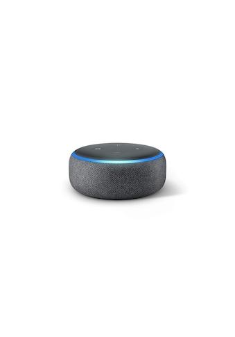 Smart Speaker »Echo Dot (3. Gen.) Anthrazit« kaufen