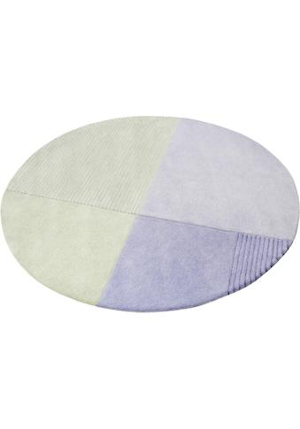 Teppich, »Harlem«, Esprit, rund, Höhe 9 mm, maschinell getuftet kaufen