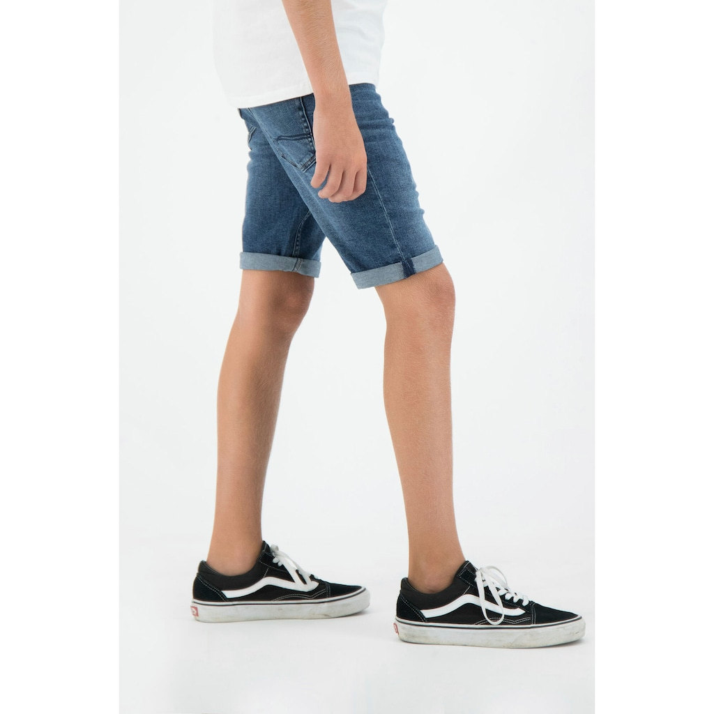 Garcia Jeansshorts, schmale Form