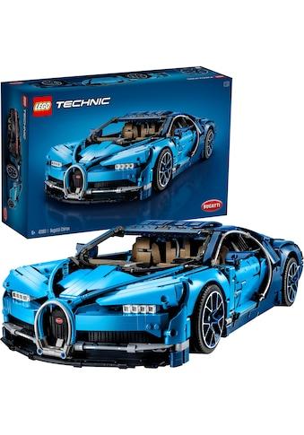 LEGO® Konstruktionsspielsteine »Bugatti Chiron (42083), LEGO® Technic«, (3599 St.),... kaufen