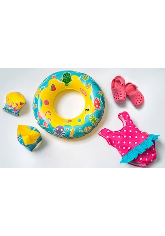 """Heless Puppenkleidung """"Puppenschwimmset mit Badeanzug und Zubehör"""", (Set, 6 - tlg.) kaufen"""