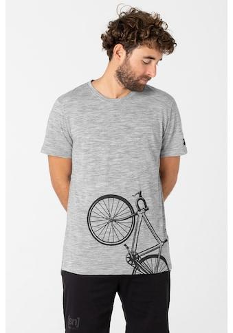 SUPER.NATURAL T-Shirt »M BICYCLE TEE«, Hohe Sichtbarkeit durch reflektierendes Element... kaufen