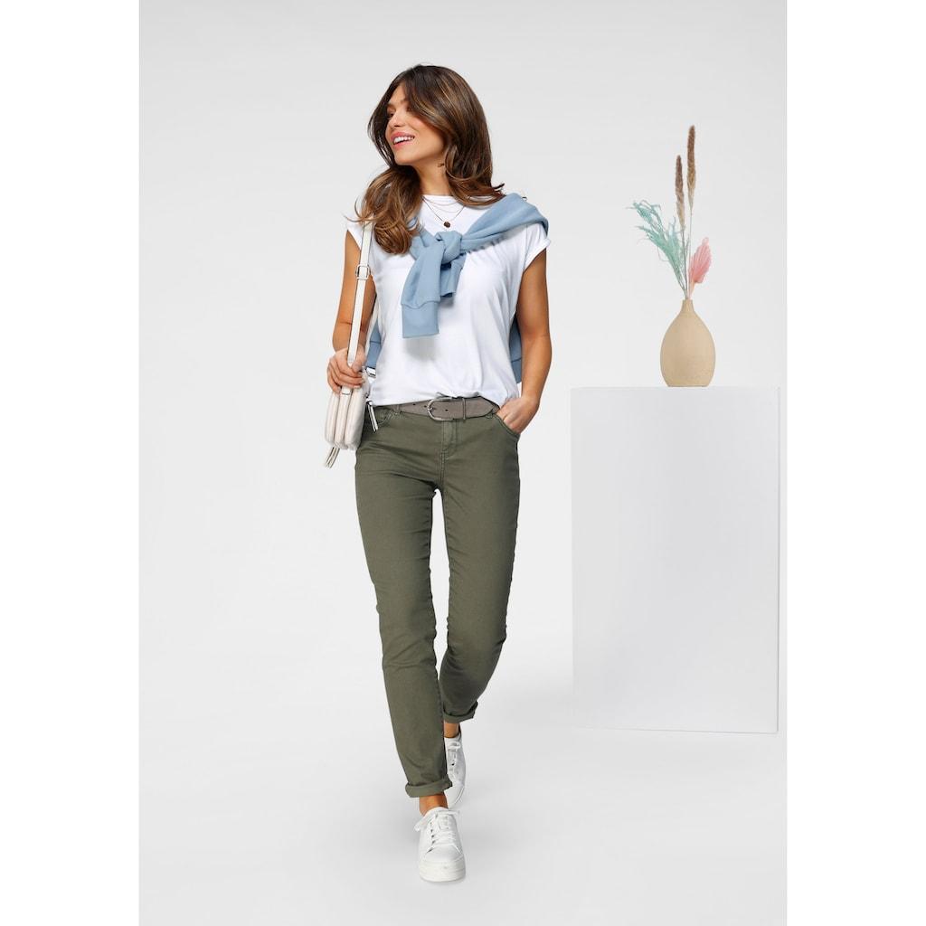 Tamaris 5-Pocket-Hose, aus weichem Twill