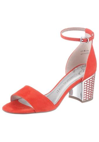 MARCO TOZZI Sandalette, mit effektvoller Absatzgestaltung kaufen