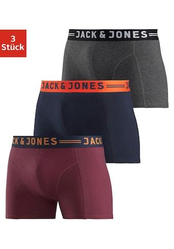 Jack & Jones Boxer »JAC Lichfield Trunks«, mit kontrastfarbigem Bund kaufen