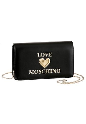 LOVE MOSCHINO Umhängetasche, mit goldfarbener Umhängekette kaufen