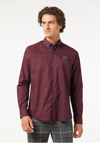 Pierre Cardin Langarmhemd, Modern Fit gestreift kaufen