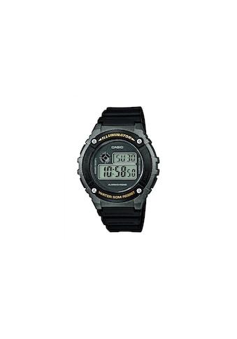 Armbanduhr, Casio, »W - 216H - 1BVEF« kaufen