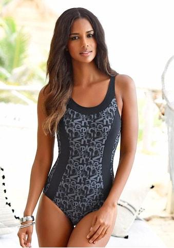 Venice Beach Badeanzug »Karibik«, mit trendigem Alloverdruck kaufen