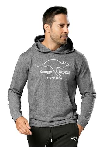 KangaROOS Kapuzensweatshirt, mit breiten Bündchen an den Abschlüssen kaufen