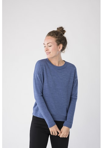 SUPER.NATURAL Sweatshirt »W JONSER SWEATER«, pflegeleichter Merino-Materialmix kaufen